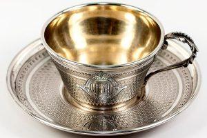 антиквариат Кофейная чашка